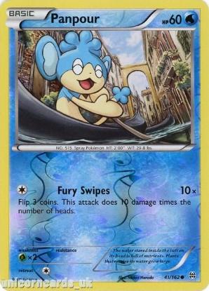 Picture of Panpour 41/162 BREAKthrough Reverse Holo Mint Pokemon Card