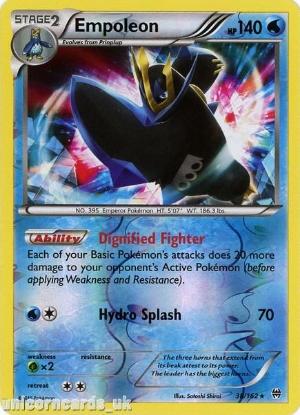 Picture of Empoleon 38/162 BREAKthrough Reverse Holo Mint Pokemon Card