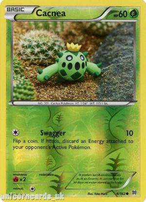 Picture of Cacnea 4/162 BREAKthrough Reverse Holo Mint Pokemon Card