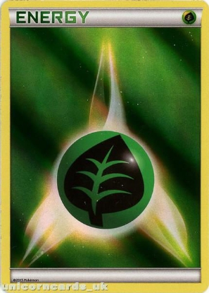 Picture of Grass Energy BD2 Holofoil Mint Pokemon Card