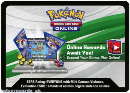 Picture of Pokemon TCG Online :: Power Trio Tin Charizard EX Pokemon Online Bonus Code Card