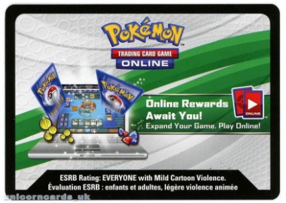 Picture of Pokemon Hoenn Power Summer 2015 Tin Online Bonus Code Card :: Blaziken EX