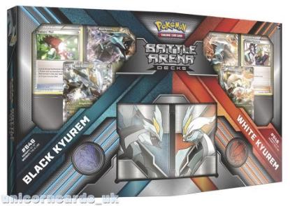 Picture of Pokemon TCG Battle Arena Decks: Black Kyurem vs White Kyurem: 2 x 60 Cards Complete Decks!