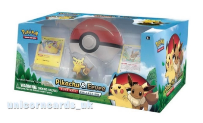 Picture of Pokemon TCG: Pikachu & Eevee Poke Ball Collection :: Brand New And Sealed!