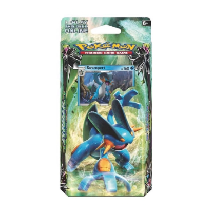 Picture of Pokemon TCG: Sun & Moon: Celestial Storm Theme Deck :: Hydro Fury :: Brand New And Sealed!