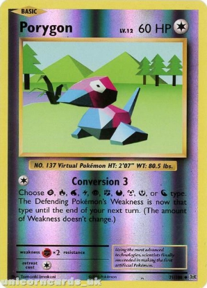 Picture of Porygon 71/108 :: Evolutions ::  Reverse Holo Mint Pokemon Card