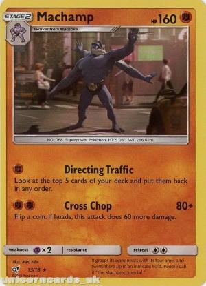 Arcanine 6//18 Rare Holo Detective Pikachu Mint Pokemon Card