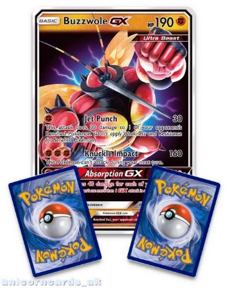Picture of Buzzwole GX SM69 JUMBO OVERSIZED Holofoil Mint Pokemon Card