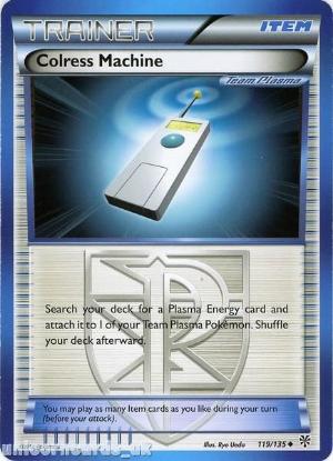 Picture of Colress Machine 119/135 LBD Uncommon Mint Pokemon Card