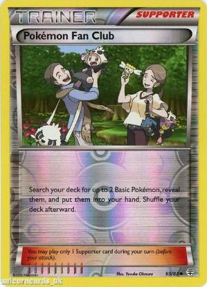 Picture of Generations 69/83 Pokemon Fan Club Reverse Holo Mint Pokemon Card