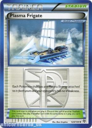 Picture of Plasma Frigate 124/135 LBD Uncommon Mint Pokemon Card