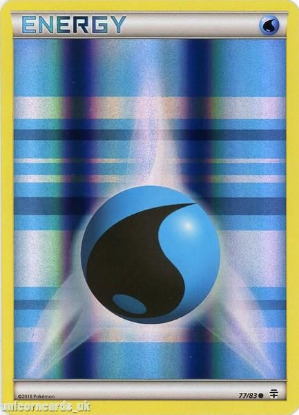 Picture of Generations 77/83 Water Energy Reverse Holo Mint Pokemon Card