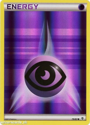 Picture of Generations 79/83 Psychic Energy Reverse Holo Mint Pokemon Card