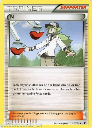 Picture of N 92/101 LBD Uncommon Mint Pokemon Card