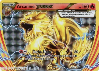Picture of Arcanine Break XY180 JUMBO OVERSIZED Promo Holo Mint Pokemon Card