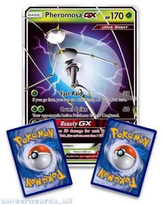 Picture of Pheromosa GX SM66 JUMBO OVERSIZED Holofoil Mint Pokemon Card