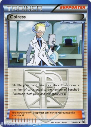 Picture of Colress 118/135 LBD Uncommon Mint Pokemon Card
