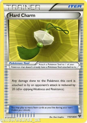 Picture of Hard Charm 119/146 LBD Uncommon Mint Pokemon Card