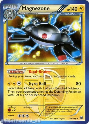 Picture of Magnezone 46/135 LBD Rare Mint Pokemon Card