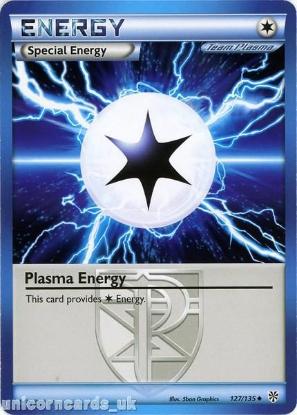 Picture of Plasma Energy 127/135 LBD Uncommon Mint Pokemon Card