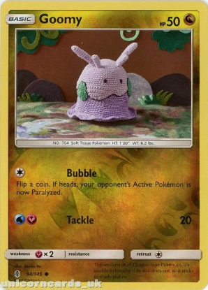 Picture of Goomy 94/145 Guardians Rising  Reverse Holo Mint Pokemon Card