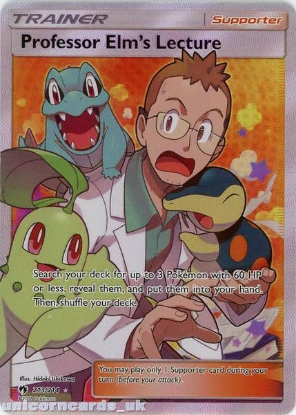 Picture of Professor Elm's Lecture 213/214 Rare Ultra :: Lost Thunder :: Mint Pokemon Card