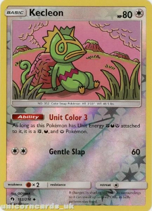 Picture of Kecleon 162/214 Reverse Holo :: Lost Thunder :: Mint Pokemon Card
