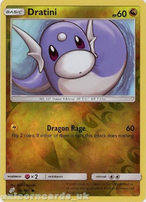 Picture of Dratini 116/181 Reverse Holo :: Team Up :: Mint Pokemon Card