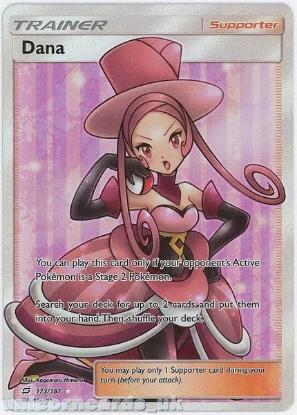 Picture of Dana 173/181 Rare Ultra :: Team Up :: Mint Pokemon Card