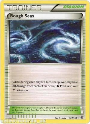 Picture of Rough Seas 137/160 RvsK Mint Pokemon Card