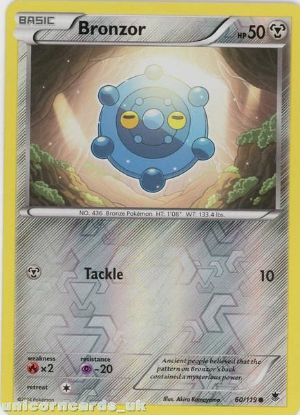 Picture of Bronzor 60/119 Phantom Forces Reverse Holo Mint Pokemon Card