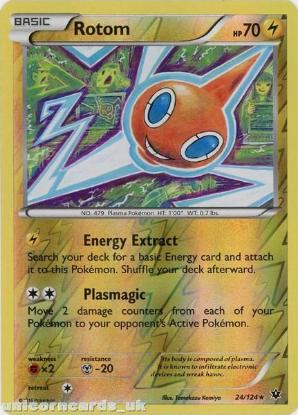 Reuniclus 35//124 Fates Collide Reverse Holo Mint Pokemon Card