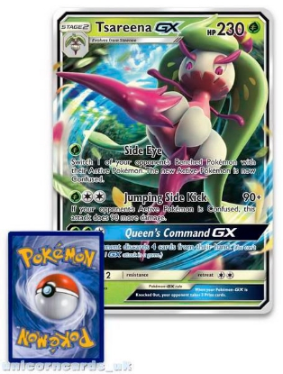 Picture of Tsareena GX SM56 JUMBO OVERSIZED Holofoil Mint Pokemon Card