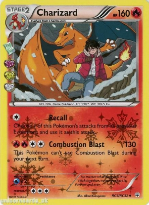 Picture of Radiant Collection RC5/RC32 Charizard Holo Mint Pokemon Card