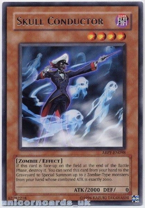 Picture of ABPF-EN098 Skull Conductor Rare UNL Edition Mint YuGiOh Card