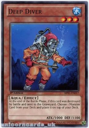 BP01-EN150 Gaap the Divine Soldier 1st Edition Mint YuGiOh Card