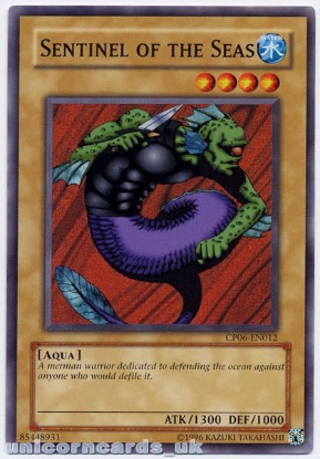 Picture of CP06-EN012 Sentinel of the Seas Mint YuGiOh Card