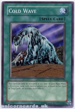 Picture of CP06-EN018 Cold Wave Mint YuGiOh Card
