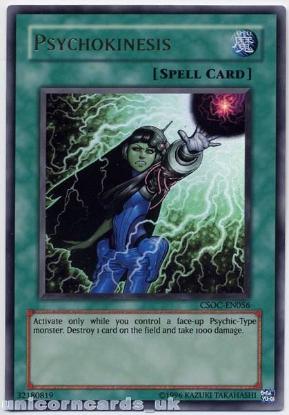 Picture of CSOC-EN056 Psychokinesis Ultra Rare Mint  YuGiOh Card
