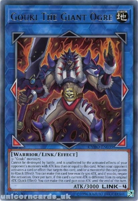 Picture of CYHO-EN039 Gouki The Giant Ogre Rare UNL Edition Mint YuGiOh Card