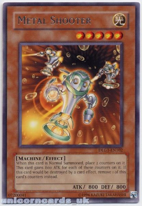 Picture of DLG1-EN102 Metal Shooter Rare Mint Yu-Gi-Oh! Card