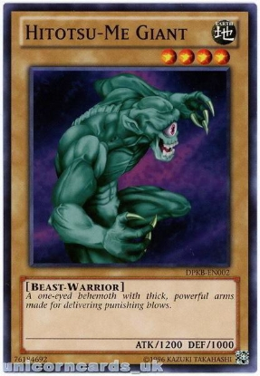 Picture of DPKB-EN002 Hitotsu-Me Giant UNL Edition Mint YuGiOh Card