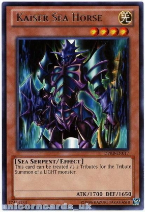 Picture of DPKB-EN017 Kaiser Sea Horse Rare UNL Edition Mint YuGiOh Card