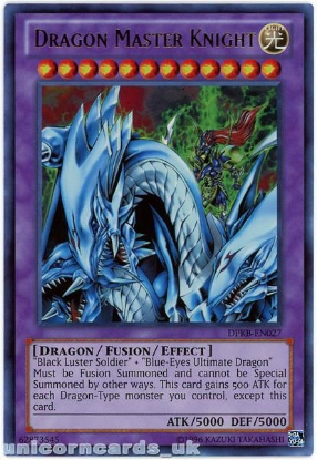 Picture of DPKB-EN027 Dragon Master Knight Ultra Rare UNL Edition Mint YuGiOh Card