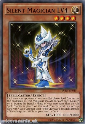 Picture of DPRP-EN019 Silent Magician LV4 1st edition Mint YuGiOh Card