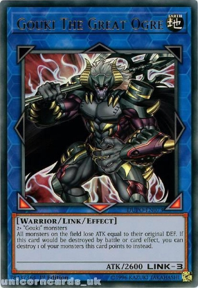 Picture of DUPO-EN073 Gouki the Great Ogre Ultra Rare 1st Edition Mint YuGiOh Card