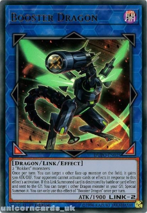 Picture of DUPO-EN025 Booster Dragon Ultra Rare 1st Edition Mint YuGiOh Card