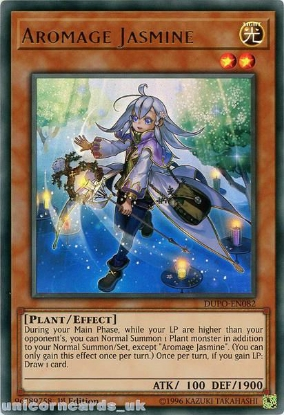 3 x YuGiOh DUPO-EN083 AROMAGE ROSEMARY Ultra Rares 1st Edition DUEL POWER