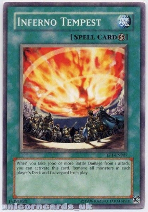 Picture of EP1-EN007 Inferno Tempest Mint Yu-Gi-Oh! Card