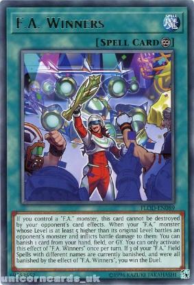 Picture of FLOD-EN089 F.A. Winners Rare UNL Edition Mint YuGiOh Card